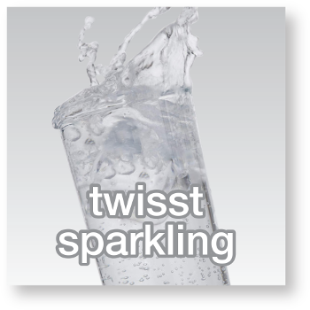 twisst sparkling button